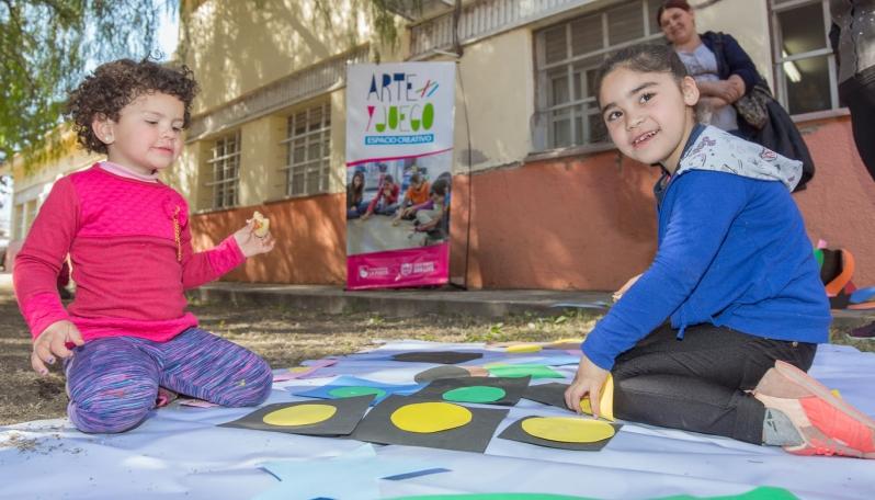 Arte y Juego participó de los festejos del día del niño en el Hospital Escuela Salud Mental