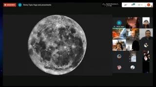 El Parque Astronómico celebró el Día Mundial de la Observación Lunar con la participación de 100 aficionados de diferentes lugares del país
