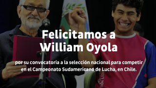 Lucha: William Oyola va al Sudamericano de Chile