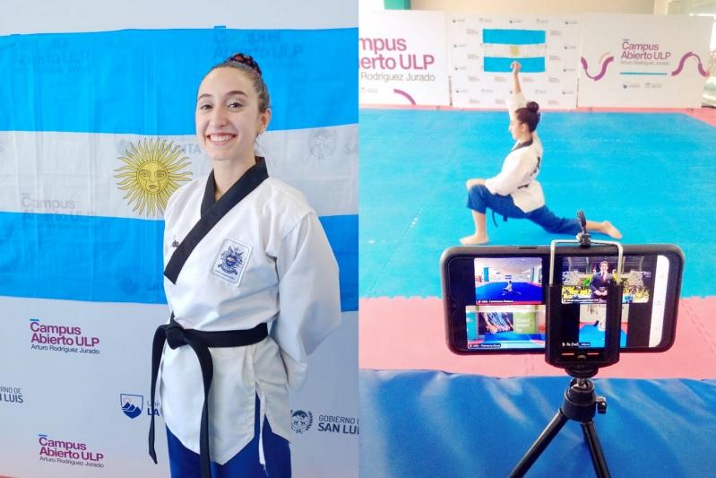 Taekwondo: el Sudamericano de Poomsae tuvo a una representante puntana