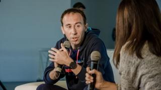 Mastromarino y Romero brindaron consejos a los corredores de la 1° Maratón La Pedrera