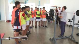 Huracán comenzó a evaluar a sus futbolistas en el Campus Abierto ULP