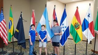 Tres ajedrecistas de la ULP participaron en el Panamericano de Ajedrez