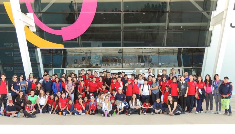 La escuela generativa de Alberdi de Villa Mercedes visitó el Campus y realizó actividades