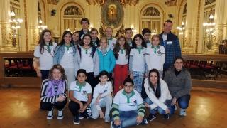 Los olímpicos ya disfrutan de su viaje de estudios en Buenos Aires
