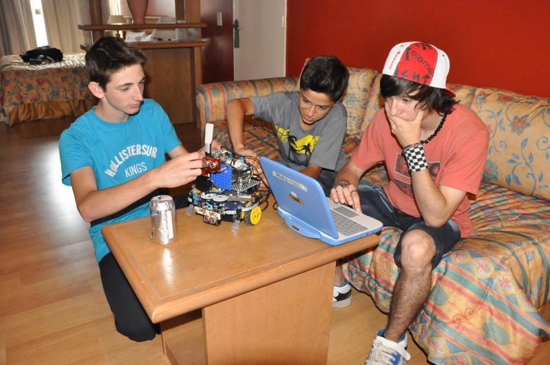 Cuenta regresiva: los chicos se preparan para la gran final nacional