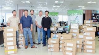 La ULP adquirió nuevos kits de robótica educativa