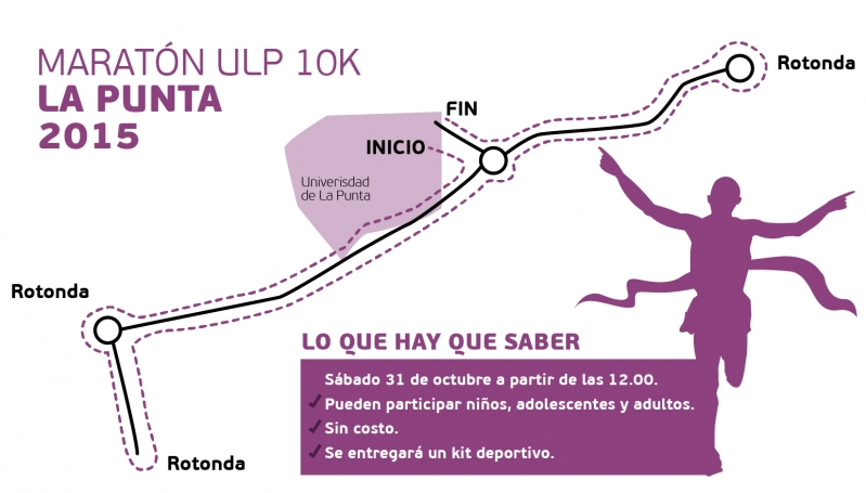Este sábado llega la primera Maratón ULP 10K