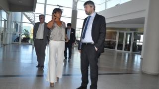 La ULP recibió a empresarios italianos vinculados al desarrollo de software