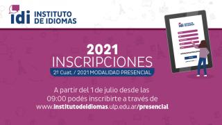 Abren las inscripciones del Instituto de Idiomas