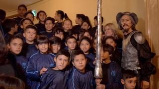 Los chicos del barrio 9 de Julio vivieron el espectáculo de sus vidas en el Teatro Colón
