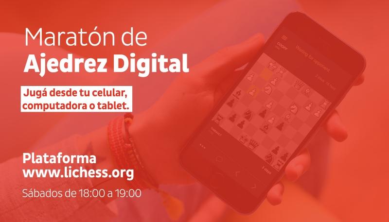 Con éxito continúa la Maratón Digital de Ajedrez