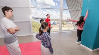 El taekwondo se sumó a las evaluaciones deportivas