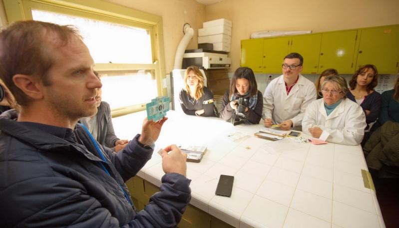 Jim Cybulski se reunió con profesionales de la Salud