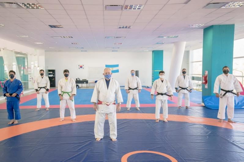 El judo provincial vivió un fin de semana de plena capacitación en el Campus ULP