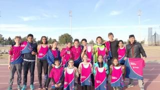 El equipo de atletismo del Campus ULP cosechó muy buenos resultados en Mendoza