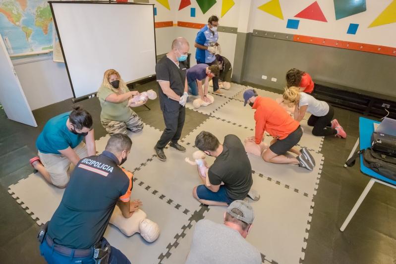 La ULP dictó el primer curso de primeros auxilios y RCP