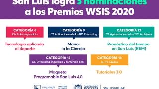 Las políticas sanluiseñas fueron nuevamente distinguidas por WSIS