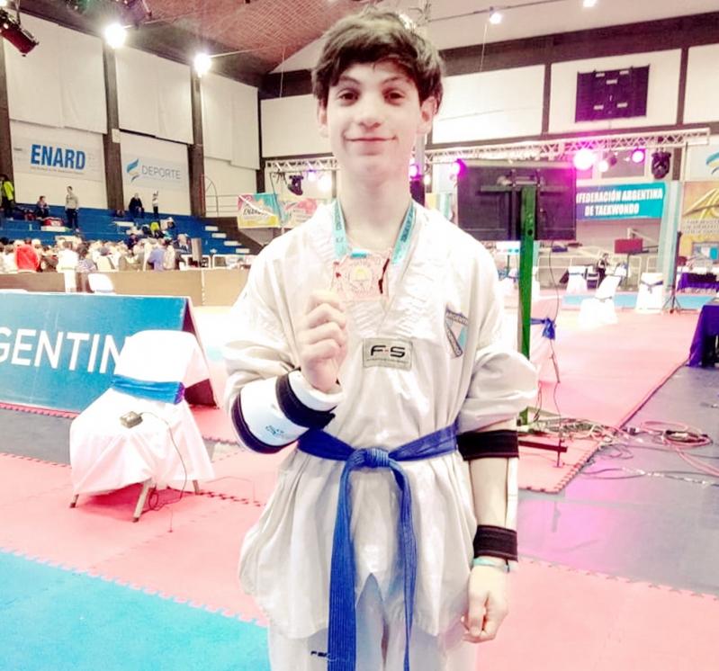 Mirco Mallimacci competirá en el Torneo Anual de Taekwondo