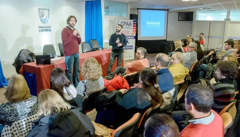 Las Escuelas Públicas Digitales de la ULP participaron de una jornada de prevención en adicciones
