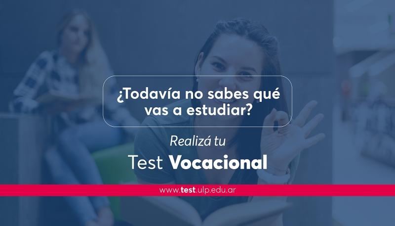 El 1º de agosto arranca el test vocacional