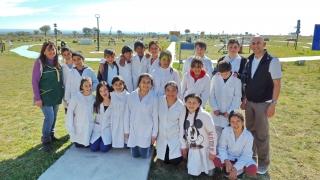 """Alumnos de la Escuela N° 434 """"Nuevos Desafíos"""" vivieron  una jornada de educación científica en el PALP"""