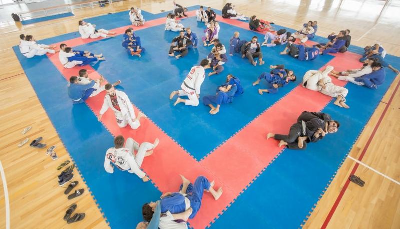 El Campus fue escenario del Encuentro Cuyano de Jiu Jitsu Brasileño
