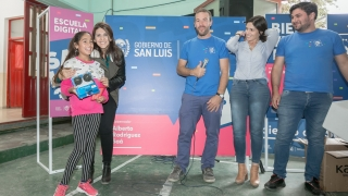 Los niños de Nueva Galia y Candelaria fueron reconocidos por su esfuerzo en la plataforma de lectura