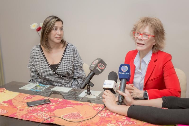 Alicia Bañuelos presentó las iniciativas de la ULP