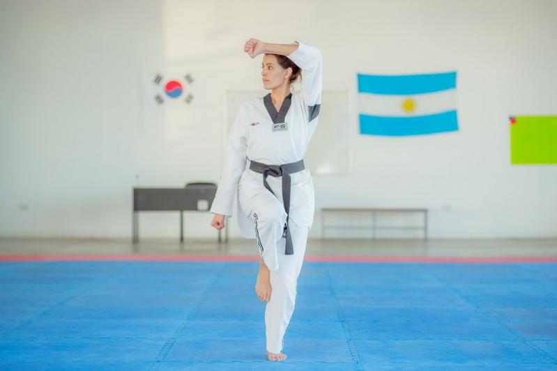 Taekwondo: Neda Romero fue convocada a los entrenamientos de la Selección Argentina