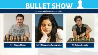 Diego Flores logró el primer puesto, escoltado por Pablo Acosta en el Bullet Show