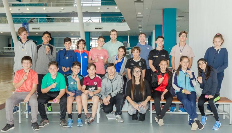 La escuela de atletismo del Campus vivió su primera experiencia fuera de la provincia