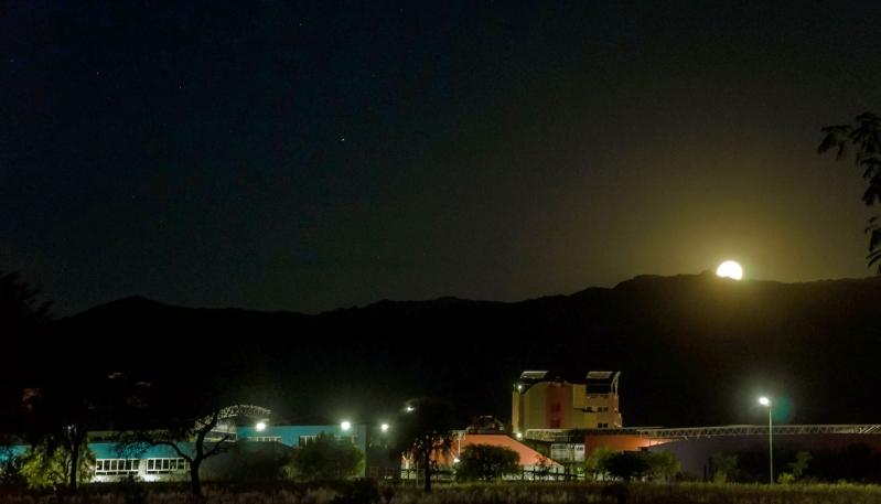 Picnic nocturno: una velada para disfrutar y contemplar el cielo puntano en familia