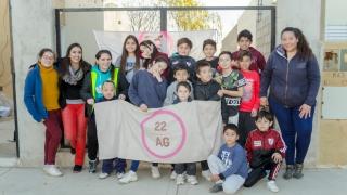 Lanzaron un taller de escritores para los niños que asisten a los merenderos