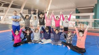 La gimnasia artística tiene su escuela en el Campus