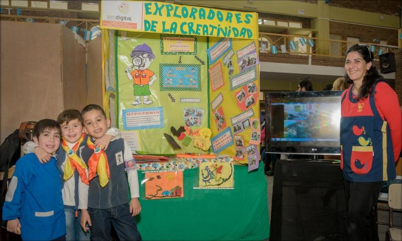 Los pequeños científicos de la EPD Albert  Einstein presentaron sus proyectos