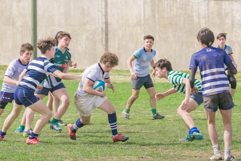 El rugby provincial vivió una jornada a pleno en el Campus ULP