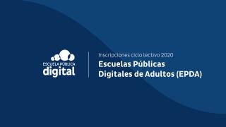 Inició el Ciclo Lectivo 2020 de las EPDA