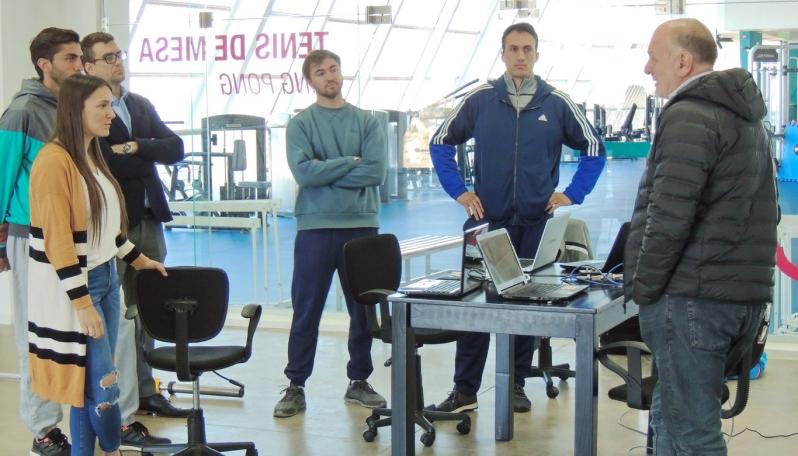 El profesional Fernando Dineza testeó la tecnología del Campus y capacitó a profesores