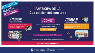 En la 2°edición de Mini y Mega Programadores participan más de 3 mil alumnos
