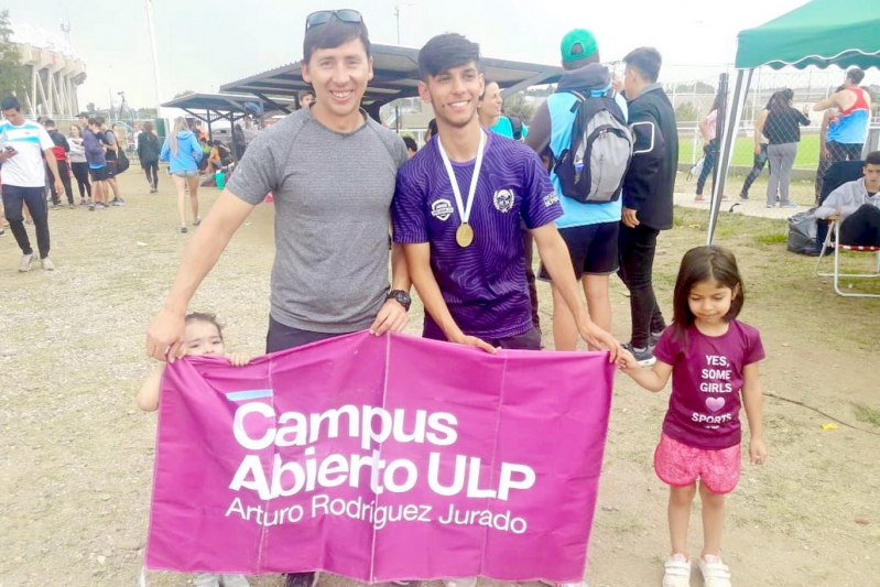 Tomás Páez bajó su marca y se consagró campeón Nacional U18