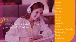 Continúan abiertas las inscripciones para los cursos online del Instituto de Idiomas