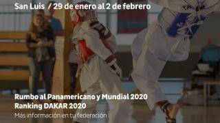 El taekwondo nacional proyecta el 2020 desde el Campus