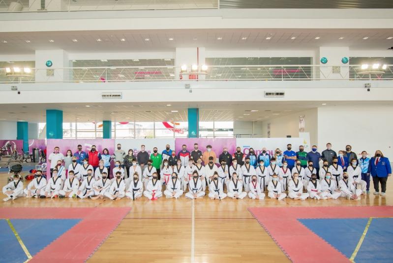El taekwondo del país entrena en San Luis