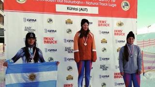 Tamara Fissore hizo podio en Austria