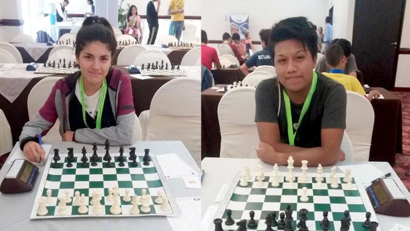 Acosta y Besso, entre los cinco mejores ajedrecistas Sub 20 de Sudamérica