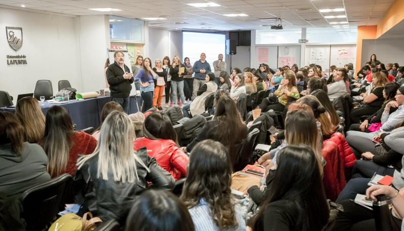Alumnos de la Diplomatura Universitaria en Promoción Comunitaria de Salud tuvieron el primer encuentro presencial