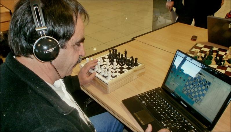 La ULP organizó el primer torneo de ajedrez digital para ciegos y disminuidos visuales