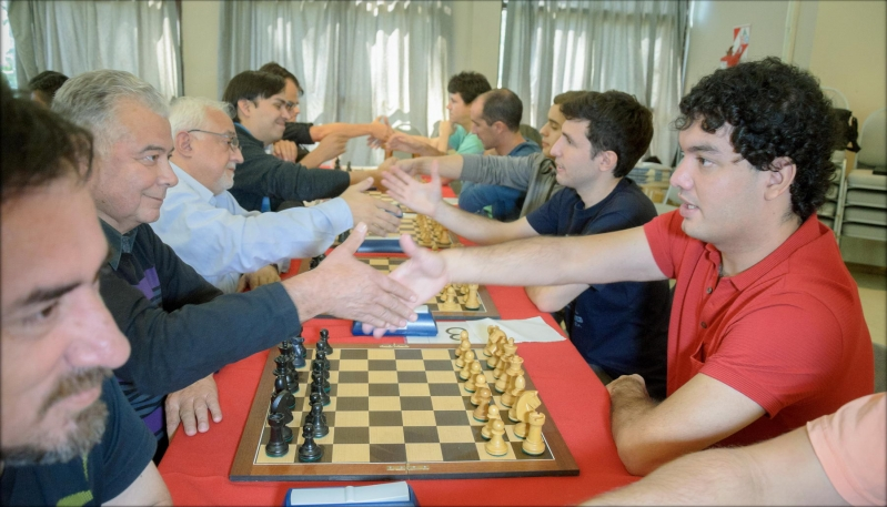 Con ajedrez de primera se festejó el 50º aniversario de El Diario de La República
