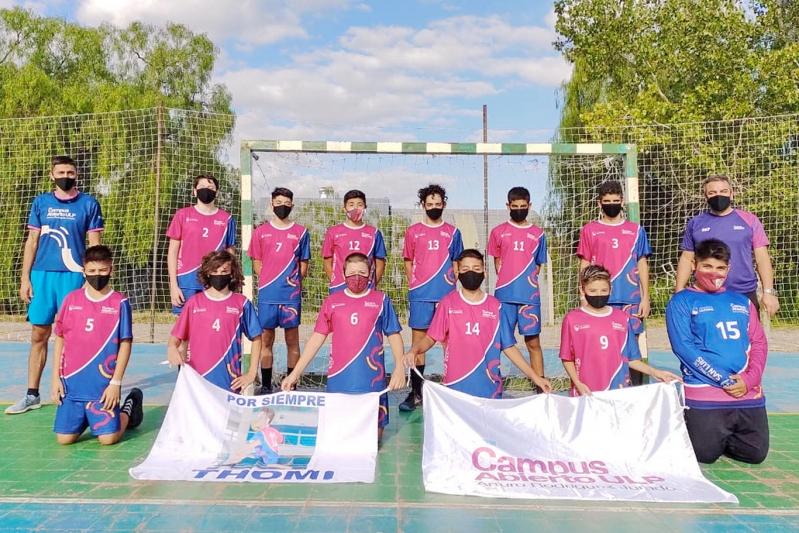 Handball: los equipos masculinos de la ULP brillaron en Mendoza